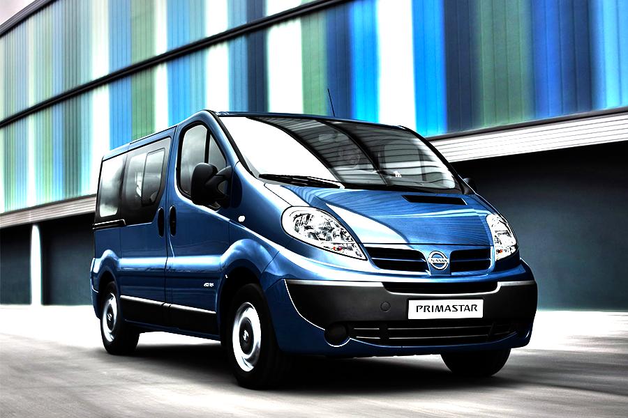 Vehicles - Simotas Car Rental Kefalonia Airport - Car Hire Kefalonia Rent a car - Nissan Primastar 9 seater