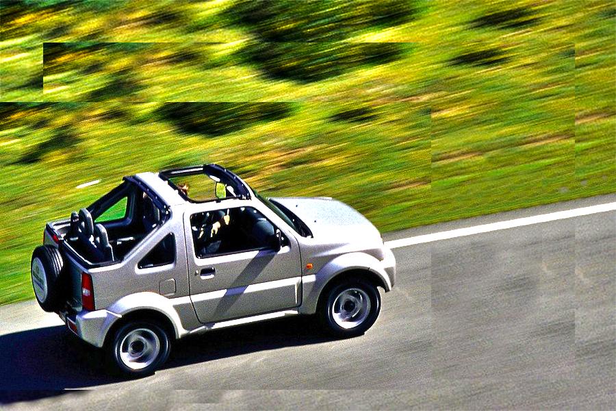 Vehicles - Simotas Car Rental Kefalonia Airport - Car Hire Kefalonia Rent a car - Suzuki Jimny Open Top 4x4