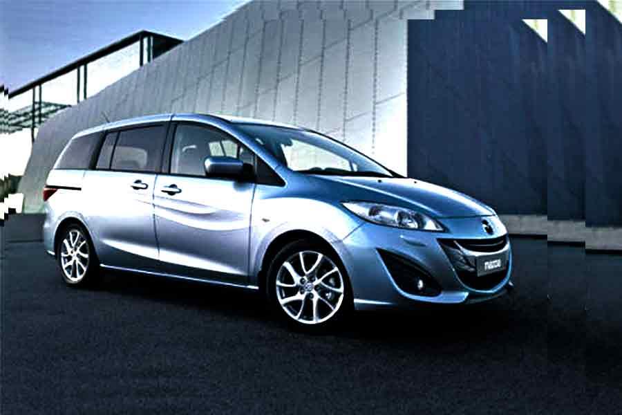 Vehicles - Simotas Car Rental Kefalonia Airport - Car Hire Kefalonia Rent a car - Mazda 5 - 7 Seater - Manual