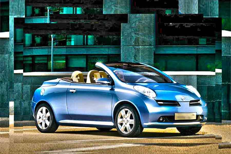 Vehicles - Simotas Car Rental Kefalonia Airport - Car Hire Kefalonia Rent a car - Nissan Micra Cabrio - electric Blue
